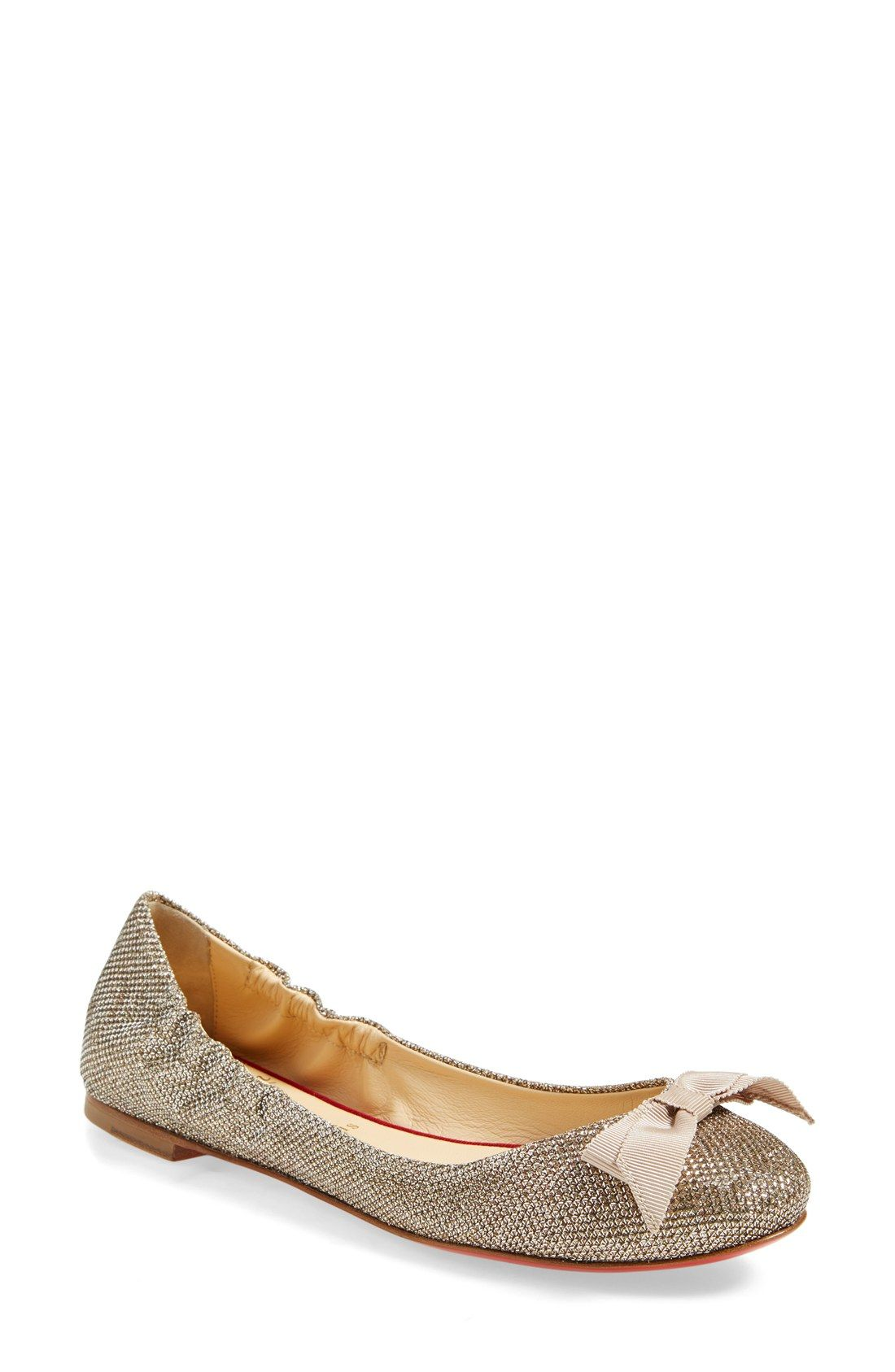 wholesale dealer 9864a d42d1 Christian Louboutin 'Gloriana' Ballet Flat | I'd Wear it ...
