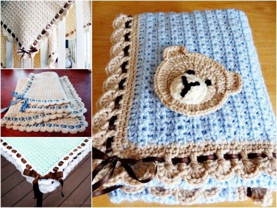 Tiramisu Crochet Blanket Free Pattern Perfect For Baby ...