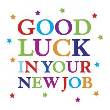 good luck in your new job good luck pinterest