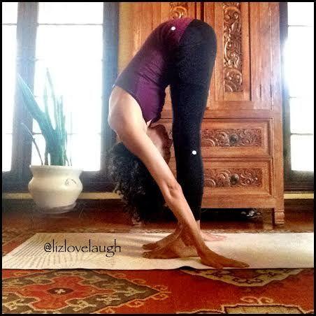 elizabeth jimenez uttanasana » yoga pose weekly http//www