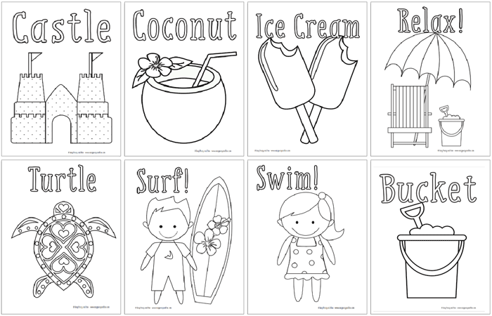 Coloring Pages 100 Coloring Sheets For The Whole Family Summer Coloring Pages Love Coloring Pages Coloring Pages Inspirational