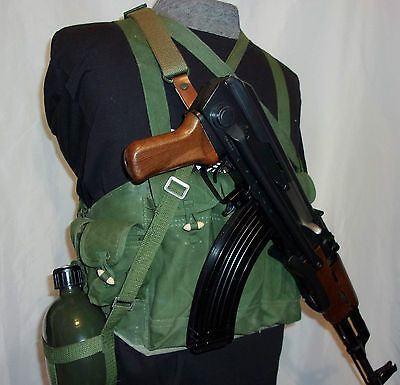 US Vietnam War Chinese Hinese Type Chest Rig Ammo Bandolier Pouch Tactical Bag