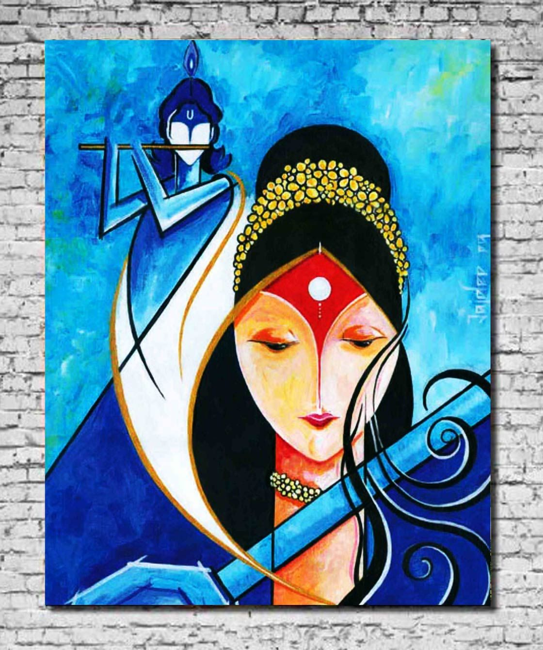 Hindu Art, Indian Paintings, Krishna Painting