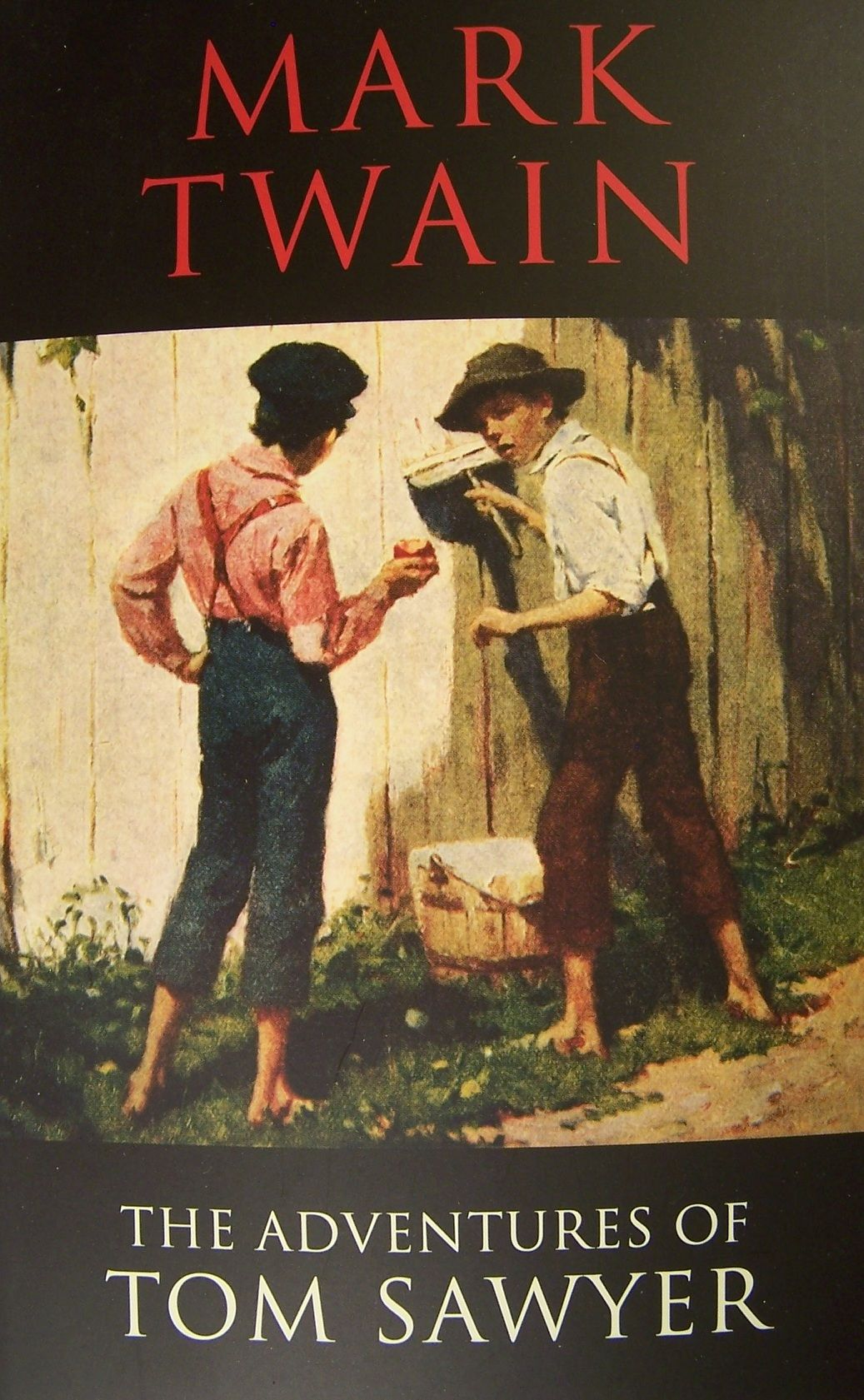 book report on the adventures of tom sawyer by mark twain Read common sense media's the adventures of huckleberry finn review  finn is a classic by mark twain  when tom sawyer reappears and the .
