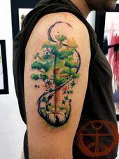 Photo of Tatouages aquarelle: beaux arbres Tatouages aquarelle: beaux arbres | Tatouage … – …