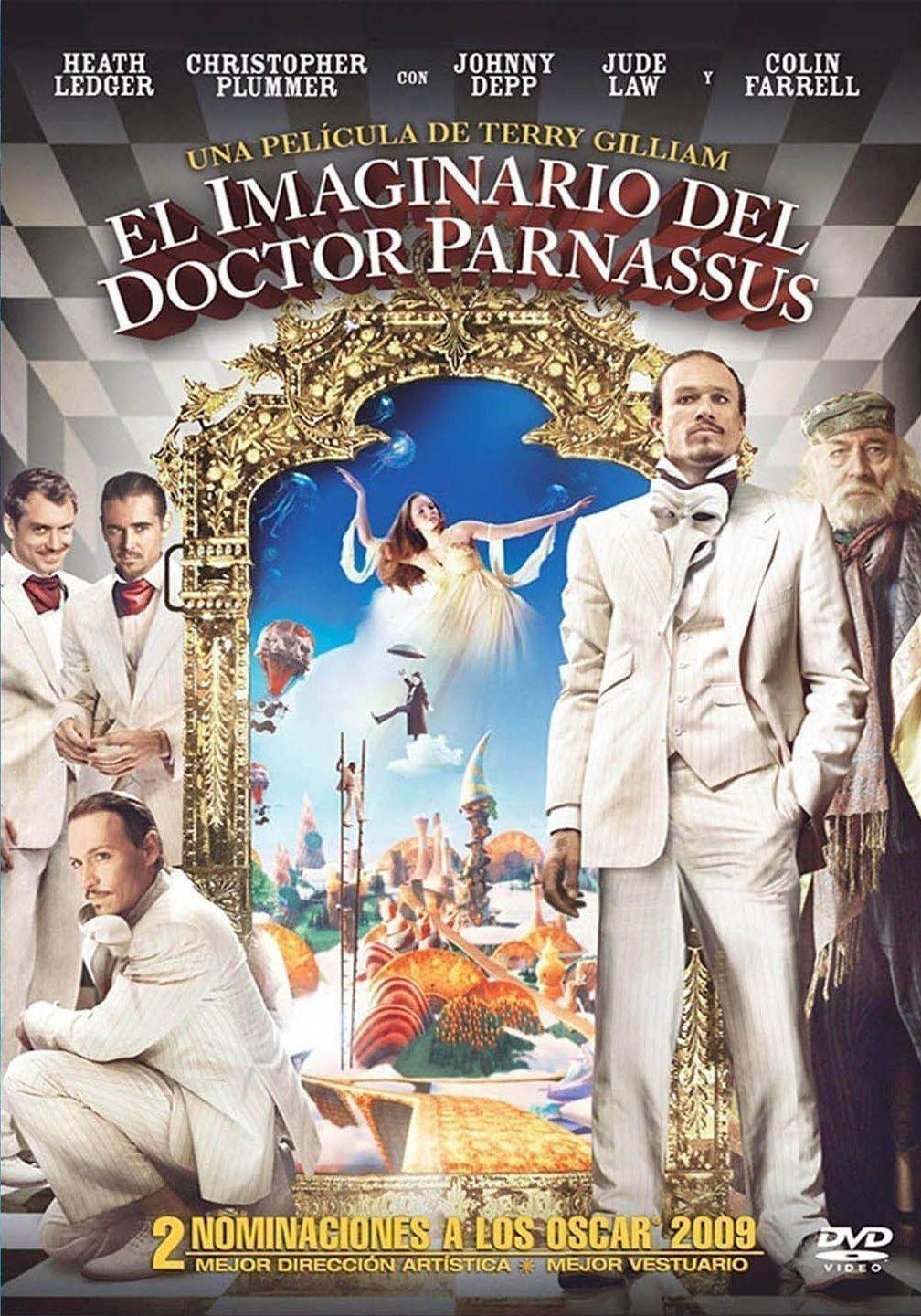 El Imaginario Del Doctor Parnassus Con Imagenes Peliculas
