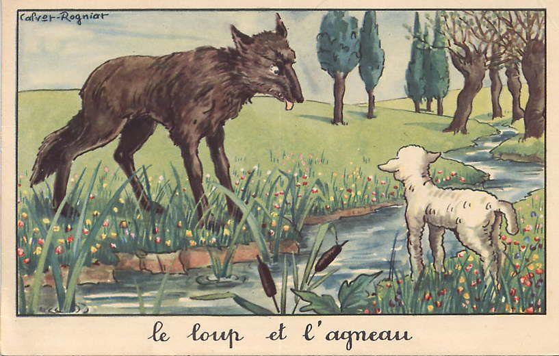 Calvet Rogniat Illustrateur Des Fables Fables De La Fontaine