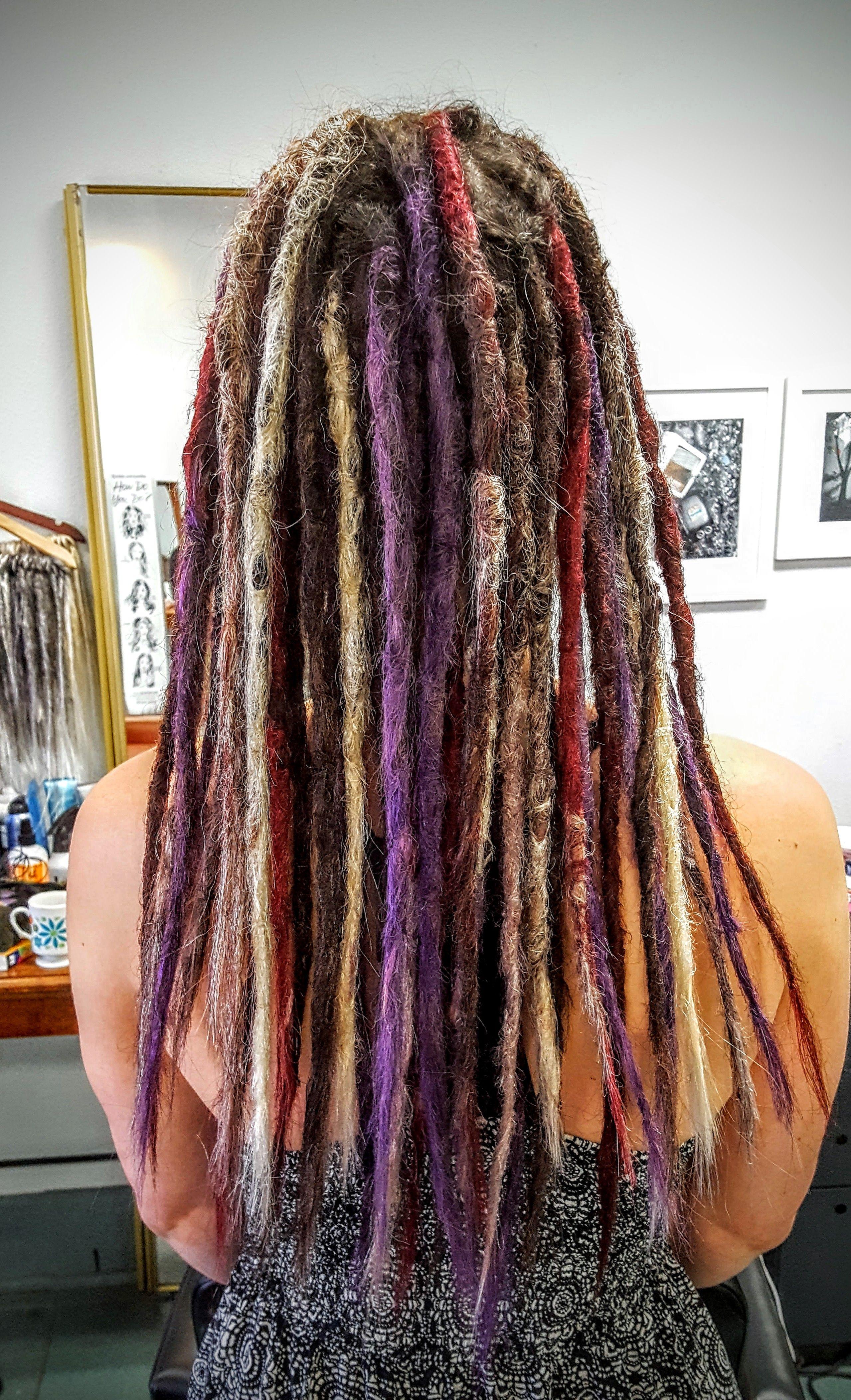 Deadlock Extensions At G Spot Hair Design Hair Designs Hair Lengths Dreadlocks