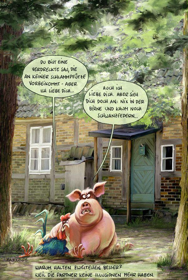 Bauernhof - MARUNDE | Cartoons & Illustrationen von Wolf ...