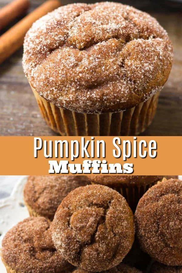 These moist pumpkin muffins have all the flavor of your favorite pumpkin pie - but in delicious muffin form. #pumpkin #pumpkinbread #cinnamon #cinnamonsugar #pumpkinspice #falldessert #pumpkindessert #pumpkinmuffins
