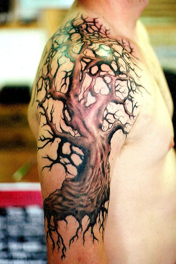 60 Awesome Tree Tattoo Designs -   24 old tree tattoo