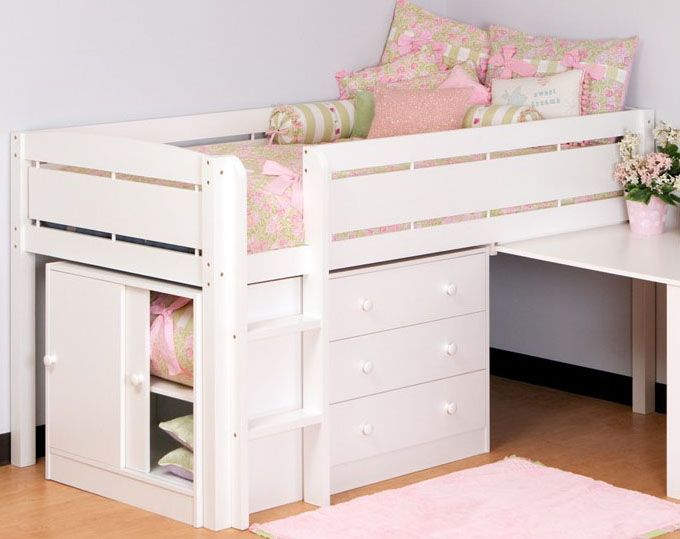 and pin built loft hillsdale ladder with junior low desk twin furniture in universal bed