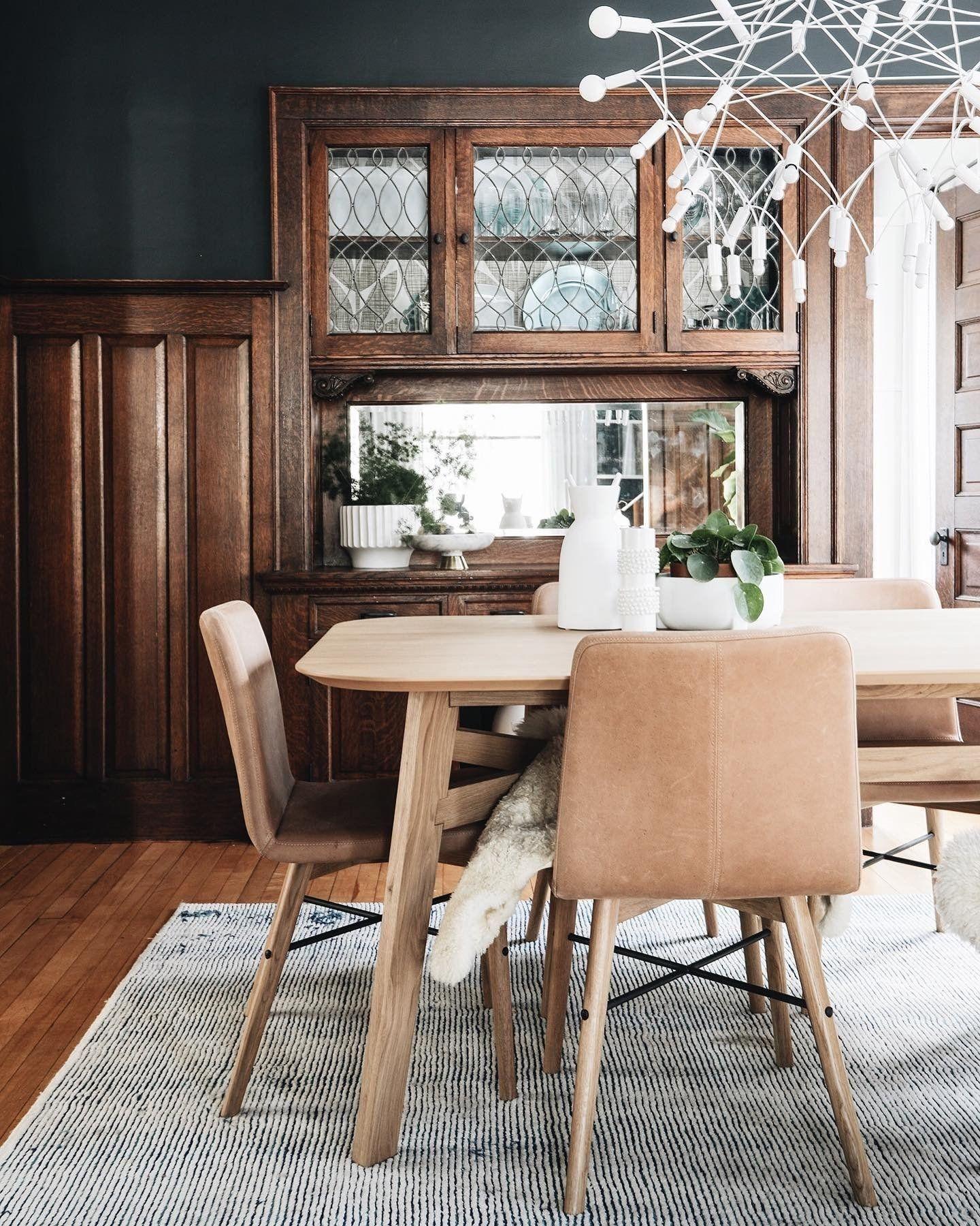 Kissa Canyon Tan Light Oak Dining Chair