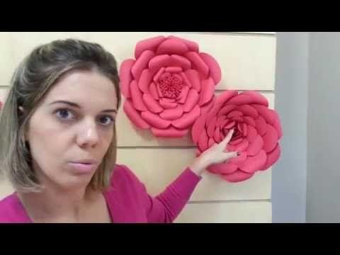 é De Casa Veja Como Fazer Flores De Papel Para Decoração 0110