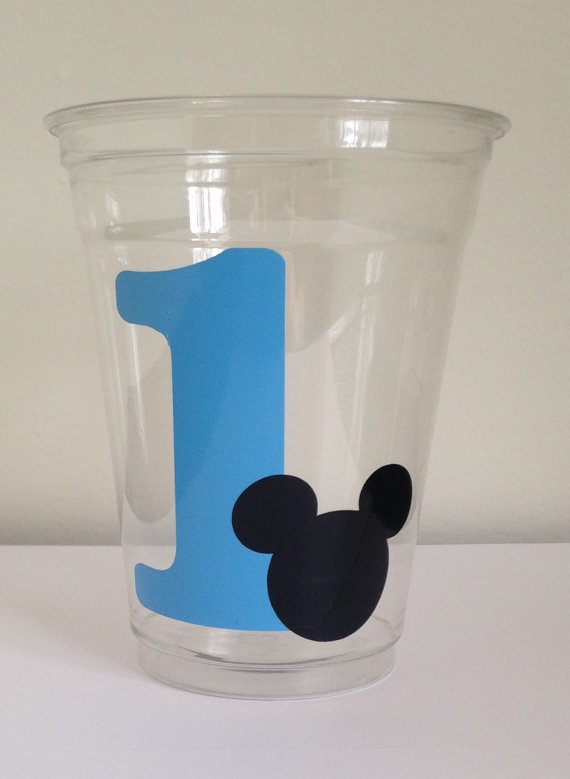 12 Blue Mickey Mouse Birthday Party Cups Mickey Mouse 1st Birthday Mickey Mouse Birthday Mick Mickey Mouse Birthday Birthday Party Cups Mickey 1st Birthdays