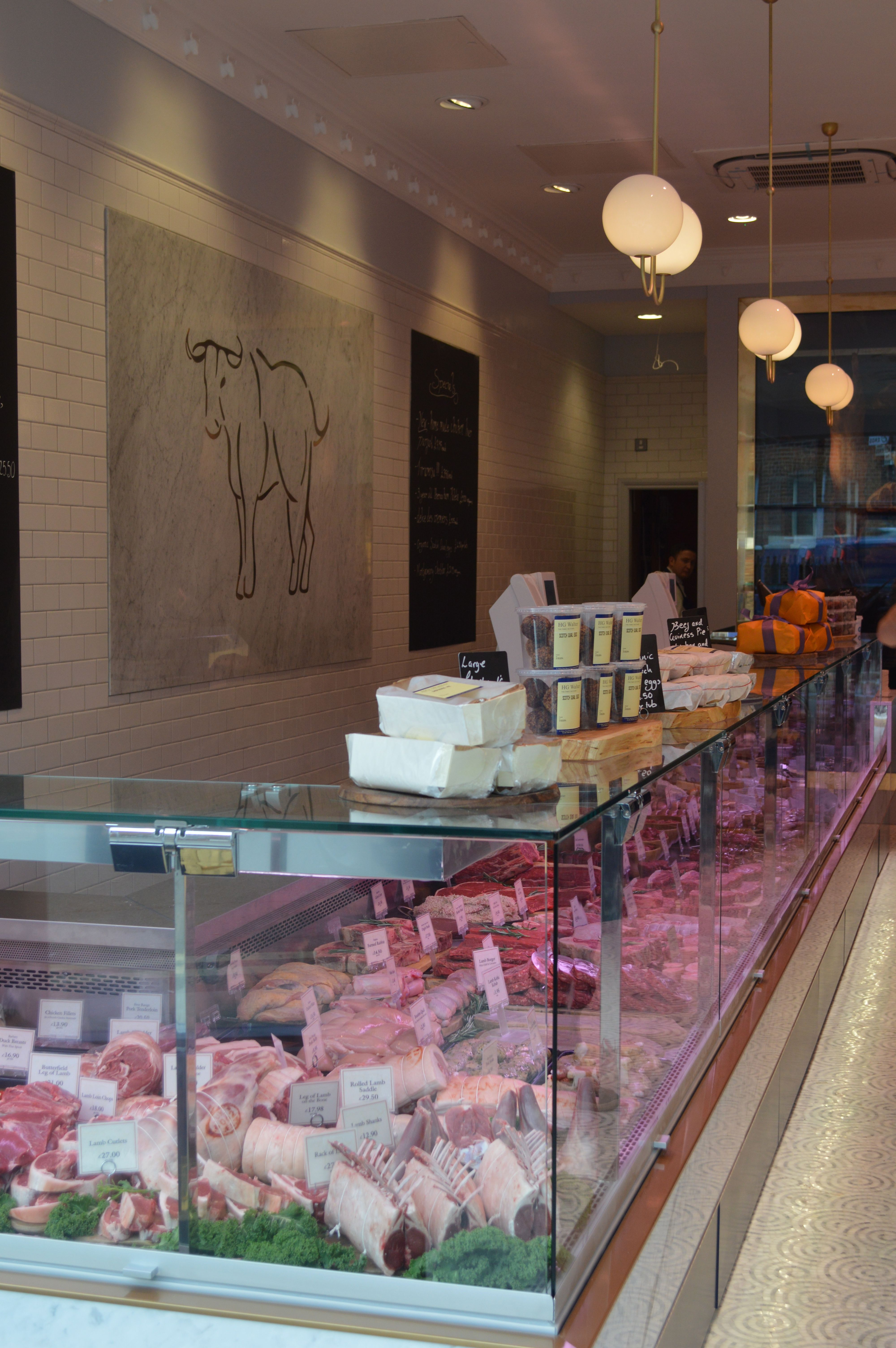 butcher shop design by tania payne interiors ltd butchertown hall pinterest boucherie. Black Bedroom Furniture Sets. Home Design Ideas