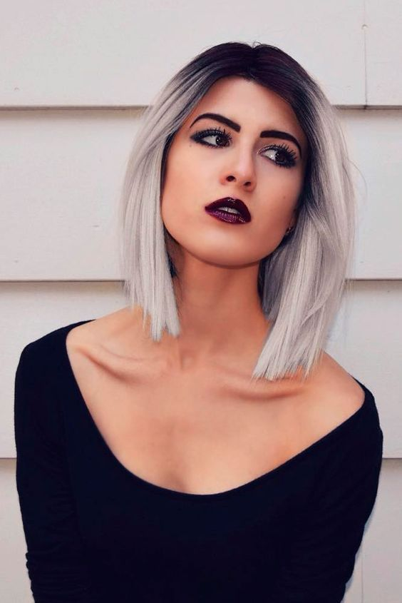 19 Super Trendy Blonde Grey Hair Ideas Short Grey Hair Grey