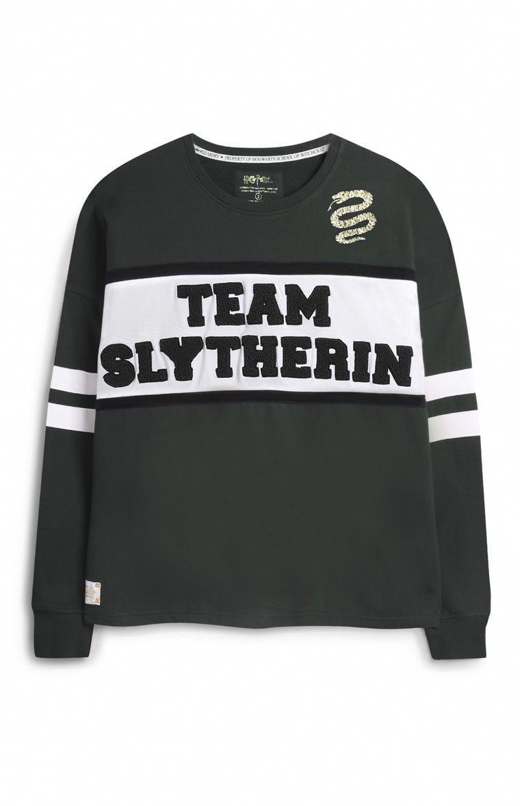 Primark Camisola Harry Potter Harrypottertumblr Harry Potter Clothes Slytherin Harry Potter Outfits Harry Potter Hoodie [ 1177 x 760 Pixel ]