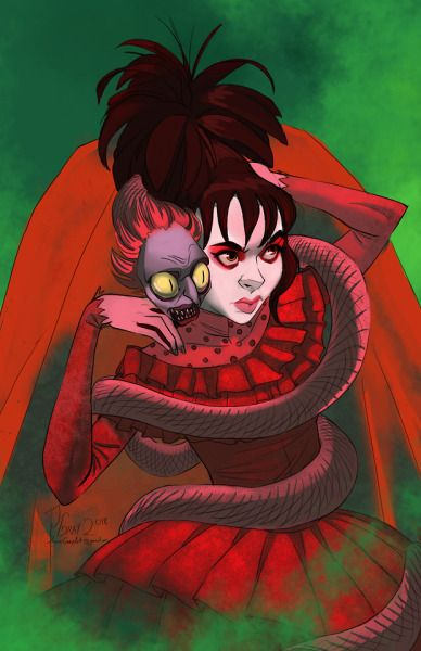 Beetlejuice Fan Art Tumblr Beetlejuice Fan Art Beetlejuice Cartoon Lydia Deetz Cartoon