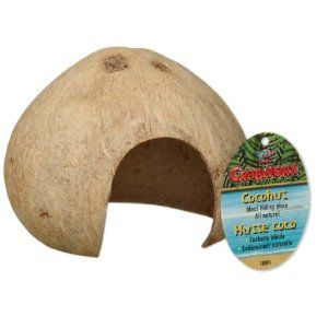 Hagen Crabworx Climbing Hut Hamster Diy Hermit Crab Coco Hut