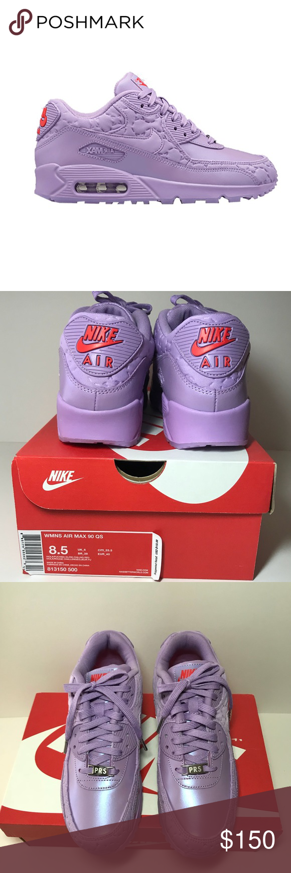 """the latest 867b9 5daef ... competitive price b61b5 a164d NEW Nike AirMax 90 QS """"Macaroon"""" W 8.5  Released on ..."""