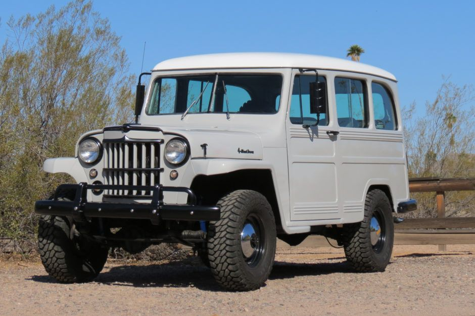 V8 Powered 1959 Willys Overland Utility Wagon Willys Wagon