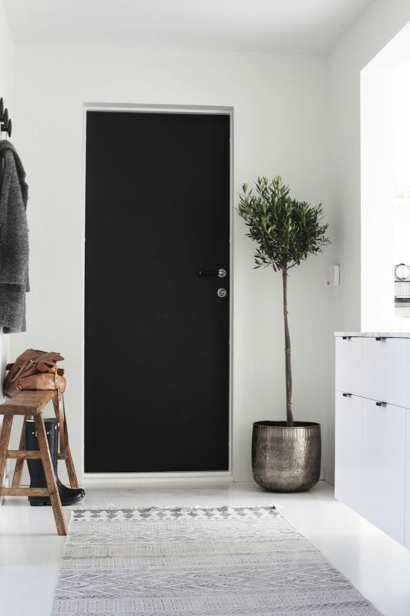 Fantastisch Kreative Wandgestaltung Flur Deko Zimmerpflanzen