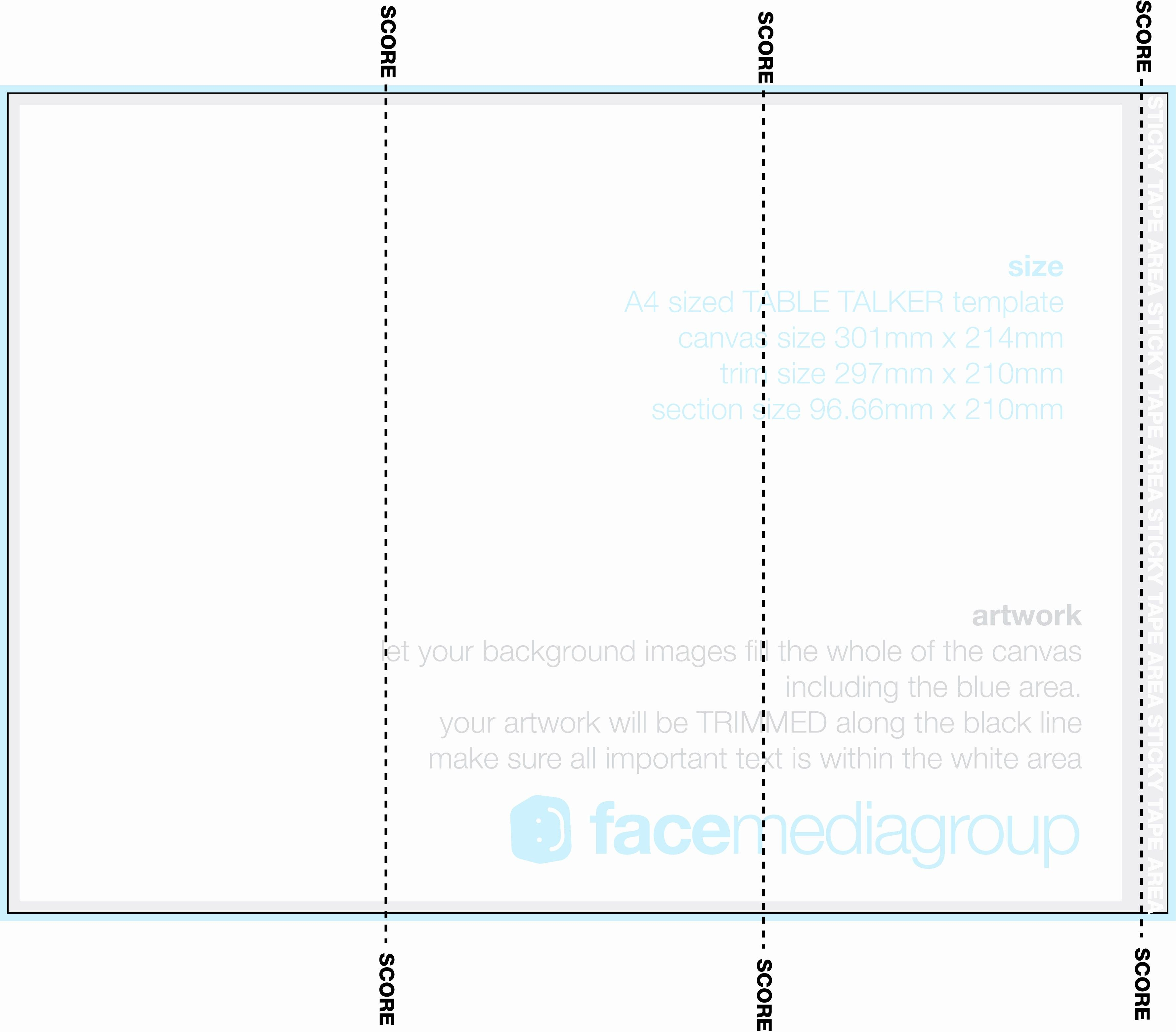 50 Awesome Tri Fold Card Template Free In 2020 Templates