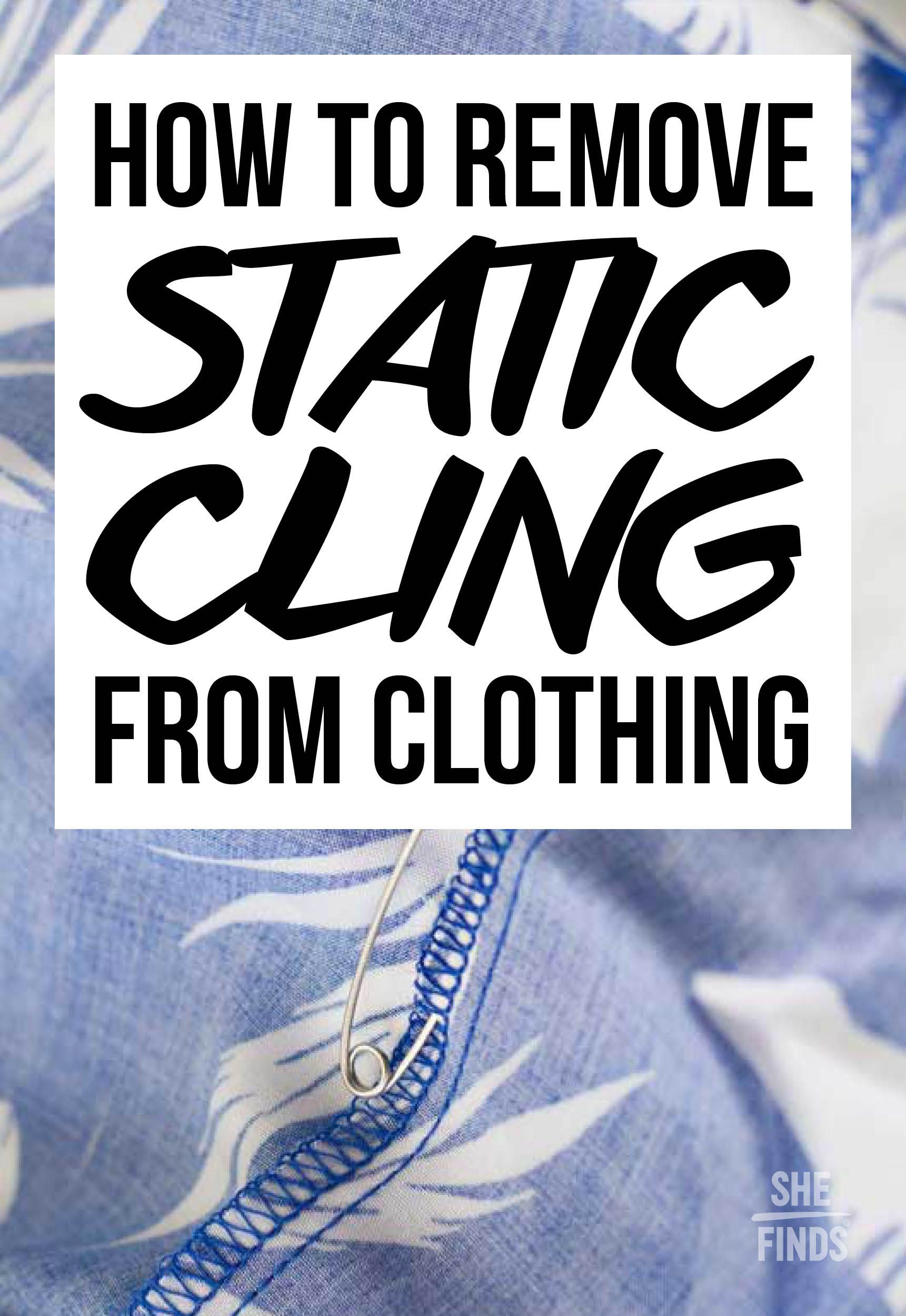 How To Remove Static Cling With Images Static Cling How To