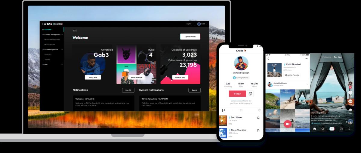 Tiktok Unveils Artist Focused App For Uploading Music And Tracking Analytics Nowplaying Listenlive Dnb Newmusic Edm Par Upload Music Focus App Music Blog