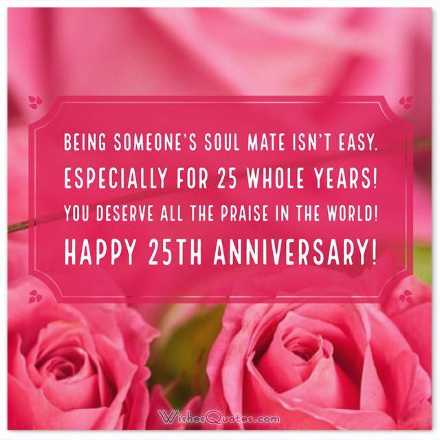 Silver Jubilee Anniversary 25th Wedding Anniversary Messages 25th Wedding Anniversary Wishes Anniversary Message 25th Anniversary Quotes