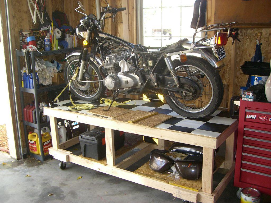 A DIY 4 Post Storage Lift The Garage Journal Board