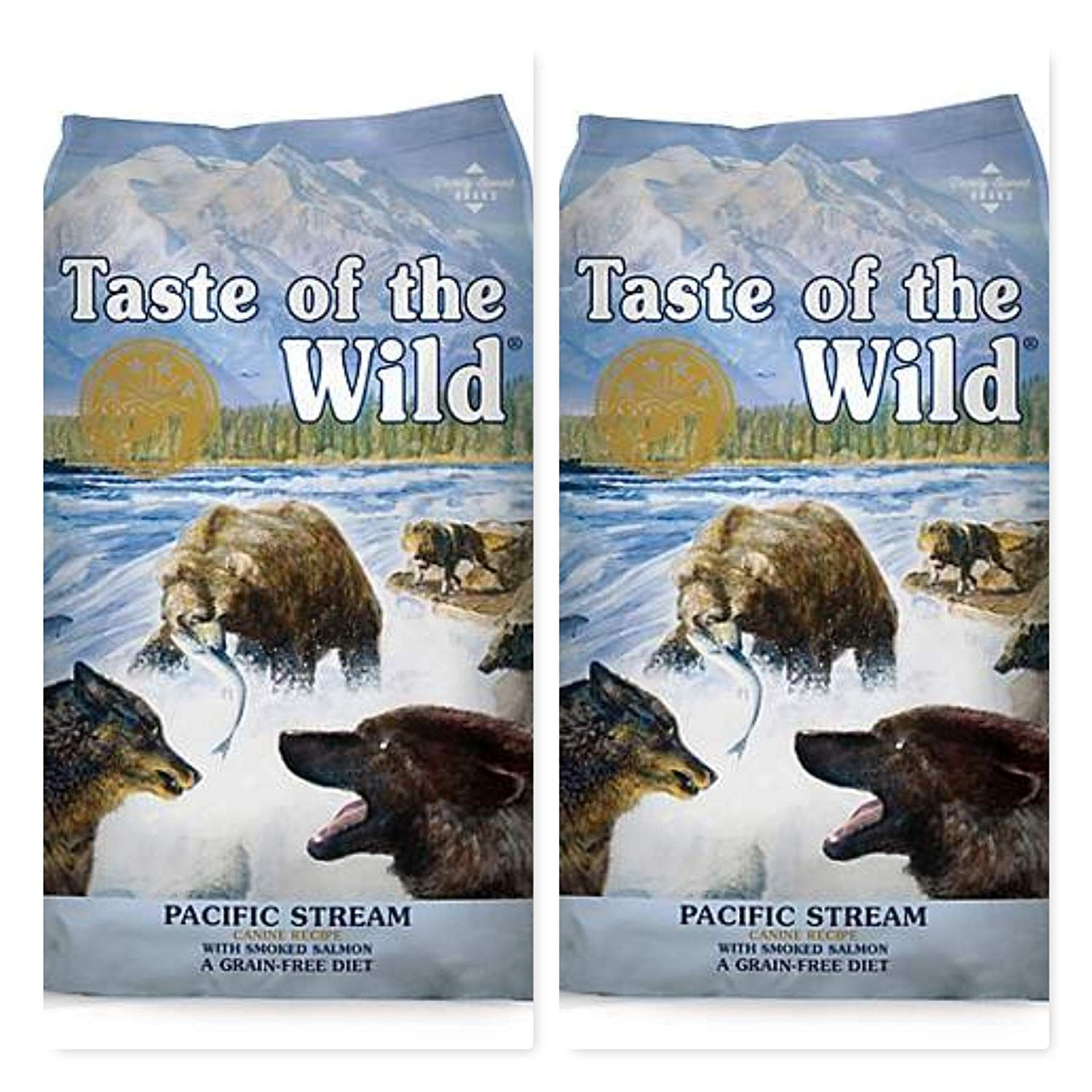 Taste of the wild 2 pack pacific stream dry dog food 2