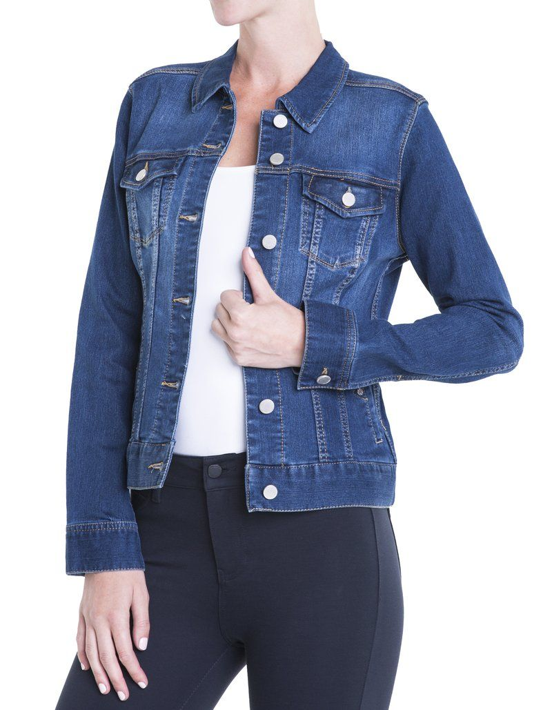 Liverpool Jeans Company Dark Americana Denim Jacket 89 Denim Jacket Vintage Denim Jacket Jackets [ 1029 x 800 Pixel ]