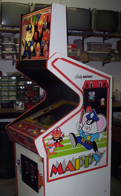 Mappy side cabinet | Cabinets | Pinterest | Arcade and Arcade games