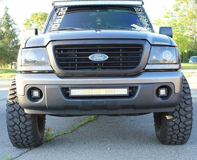 Ford ranger with auxbeam 4 inch pods 22 and 52 led light ford ranger with auxbeam 4 inch pods 22 and 52 led mozeypictures Gallery