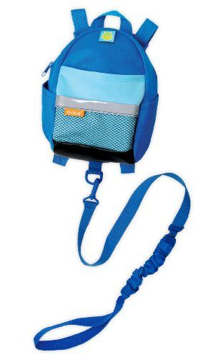 Brica By My Side Safety Harness Backpack Bluefrom Brica