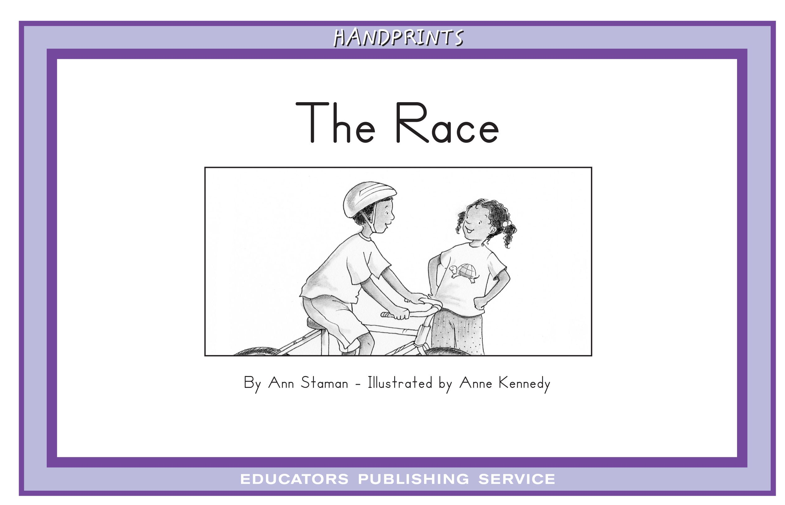 The Race Level 8 Handprints C Set 3 Leveled Readers
