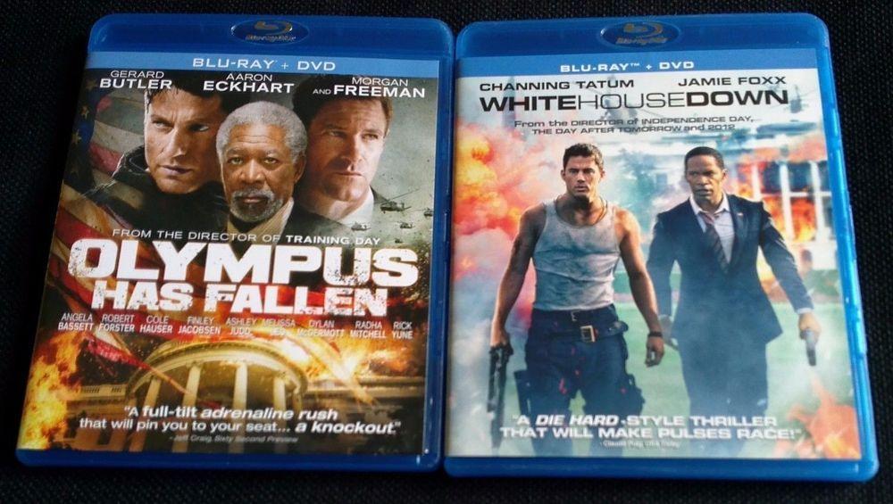 Olympus Has Fallen 2013 Blu Ray Free White House Down Blu Ray