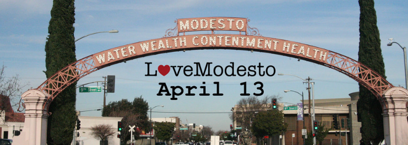 Save The Date Love Modesto Is On April 13 Lovemodesto Is A Day Where Our Community Comes Together To Volunteer For Our Ci Modesto Service Projects April 13