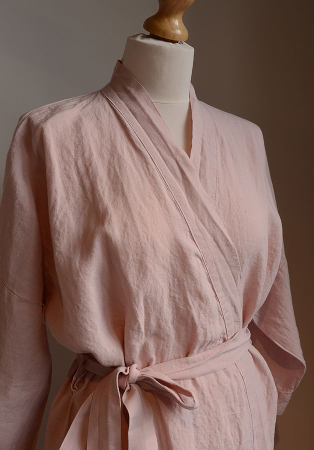a7d412a737e Soft linen robe from Natural Bed Company