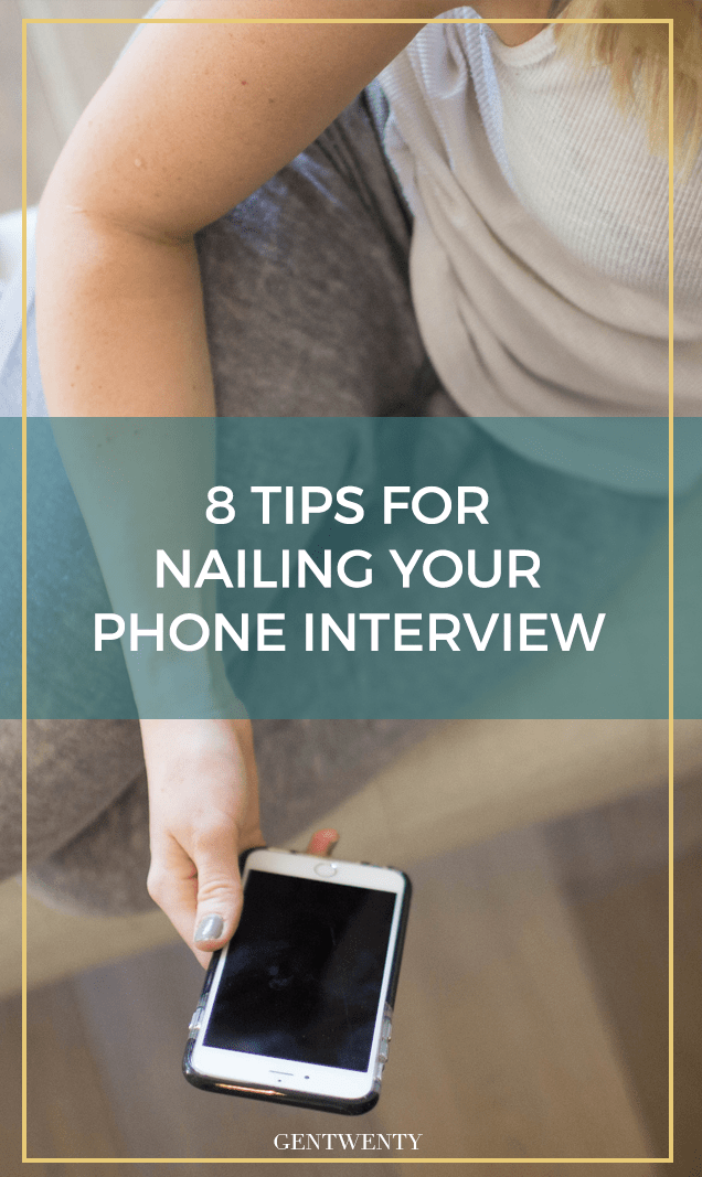 How to Nail a Phone Interview Phone interviews, Job