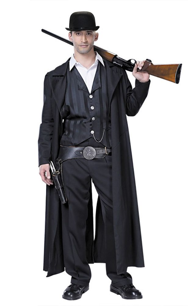 f139094df Old West Preacher Clothes | Billy the Kid - Famous People Costumes