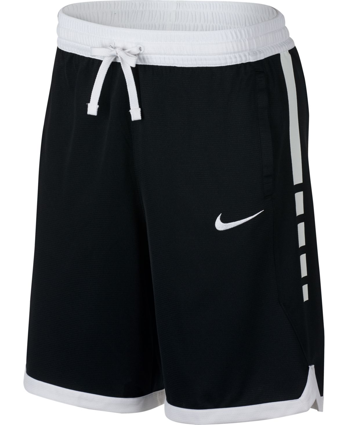 Nike Men S Dri Fit Elite Basketball Shorts Black White Basketball Clothes Womens Basketball Shorts Nike Basketball Shorts