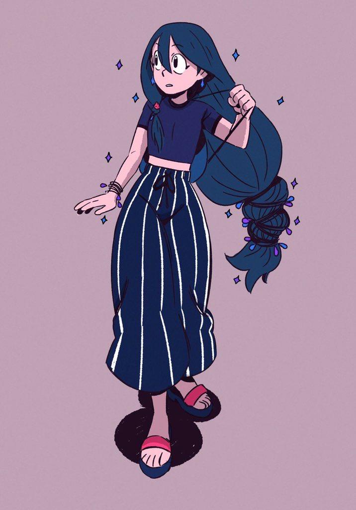 Asui Tsuyu Character N Weapon Reference Character Art