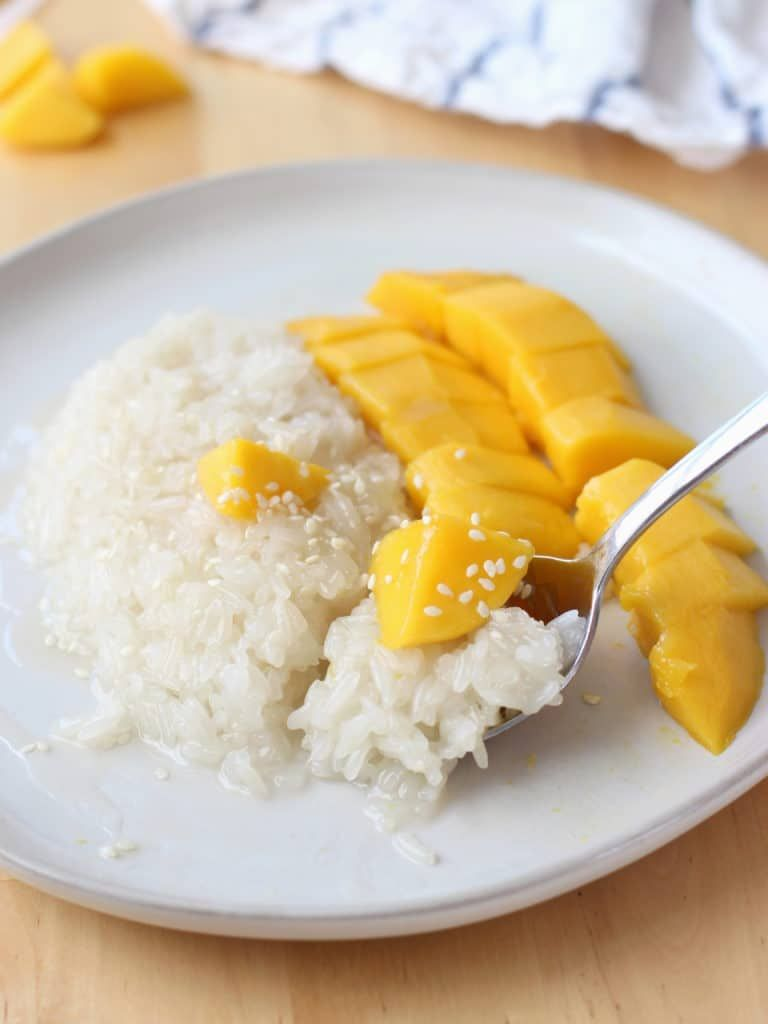 Thai Mango Sweet Sticky Rice | Recipe | Sweet sticky rice ...