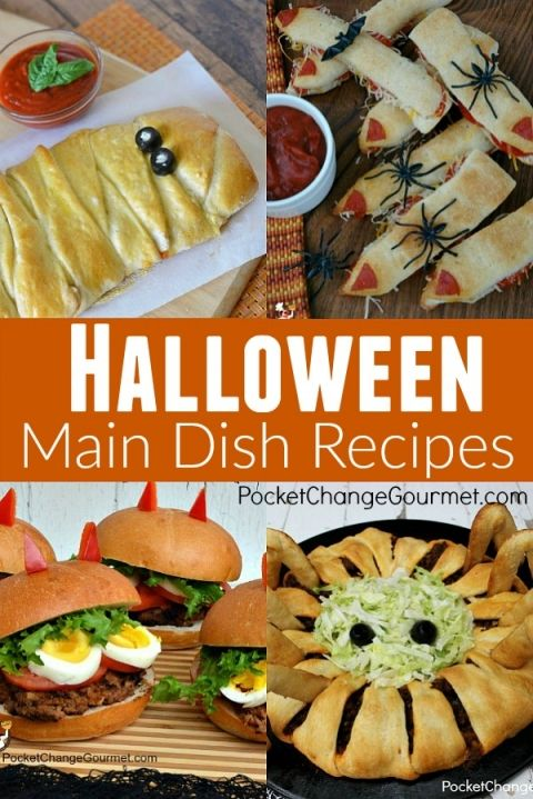 Halloween Party Food Recipes | Pocket Change Gourmet