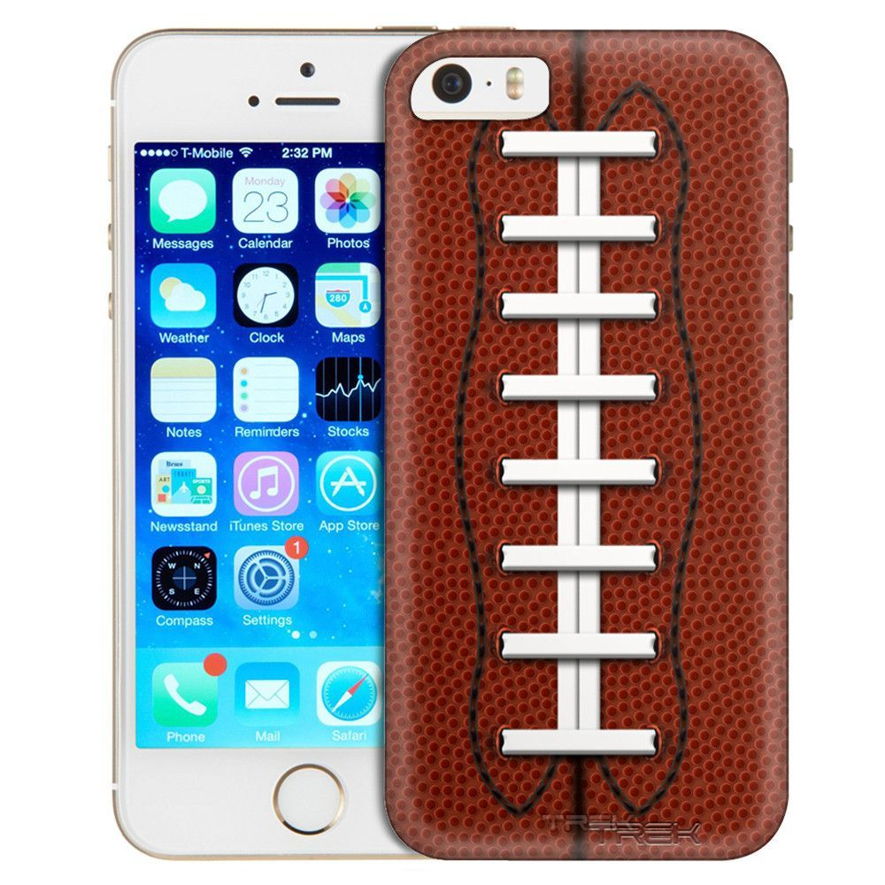 Apple iPhone SE Laced Football Skin Trans Case