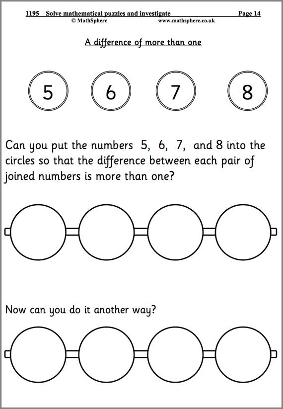 Maths Worksheets Year 6 Problem Solving Problem Solving Worksheet Math Problem Solving Math Worksheet