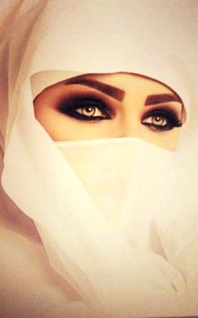 Beautiful Muslim Women With Niqab Beauty Eyes Gorgeous Eyes